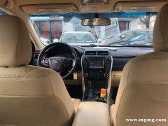 出售2015年 Toyota CAMRY LE 里程8200